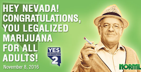 nevada legalizes marijuana