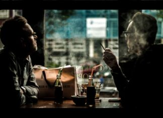 Two men talk about the Cannabis Industry