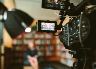 A Video Testimonials being done for Content Marketing